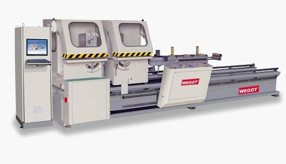 Double-Head CNC Precision Cutting Saw for Aluminum Window & Door