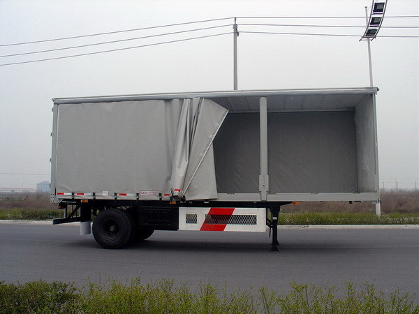 Used Nuvan Curtain Side Trailers for sale, Nuvan Curtain Side
