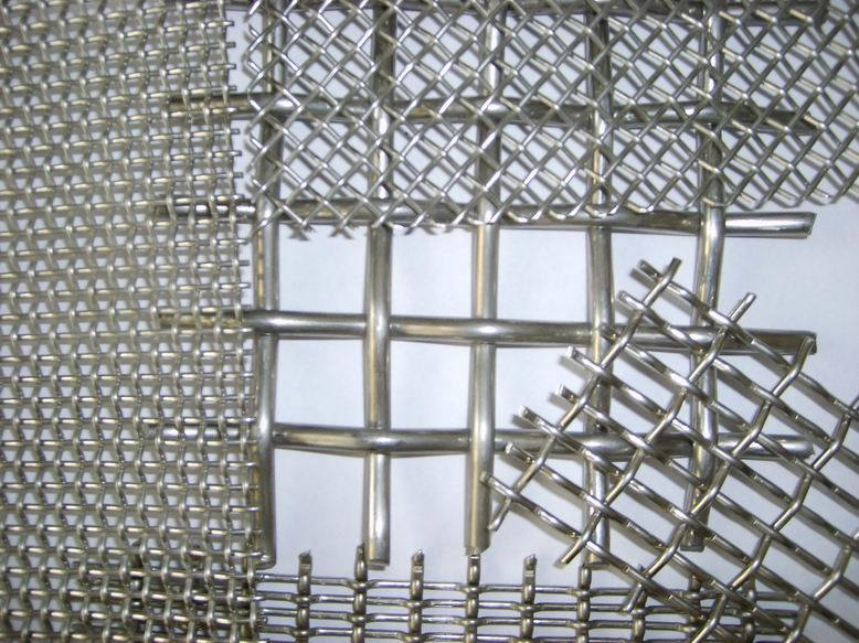 Stainless steel crimped wire mesh china