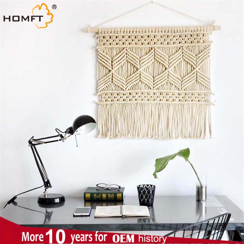 Deco Home Cotton Cord Macrame Wall Hanger