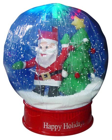 China 15 quot inflatable mini snow globes 25915 3 china christmas