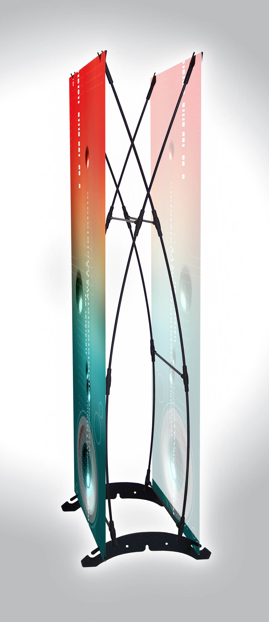 Expo Banner Stands : China expo banner stand double