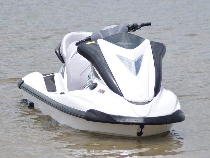 Jet ski motor in fishing boat all boats for Fishing jet ski for sale