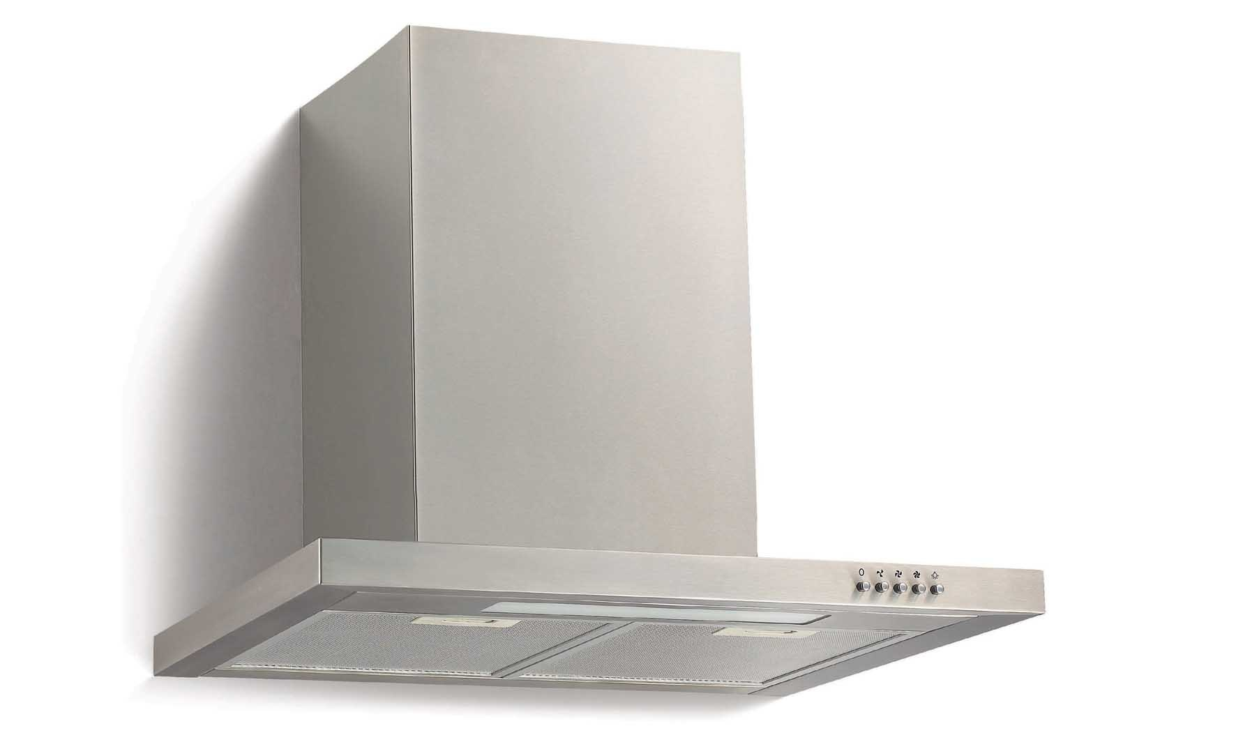 China Kitchen Hood Flat Style 600mm Stainless Steel