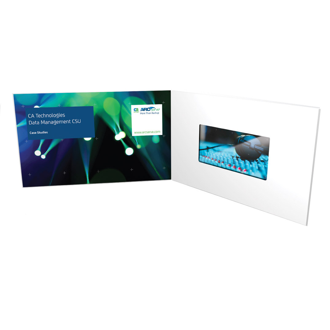 China LCD Video Brochure Cards TV in Card Video Gift