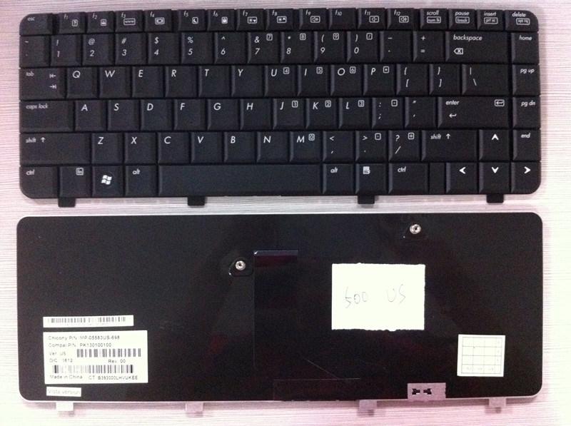 Original Us Layout Laptop Keyboard for HP 500 520 530
