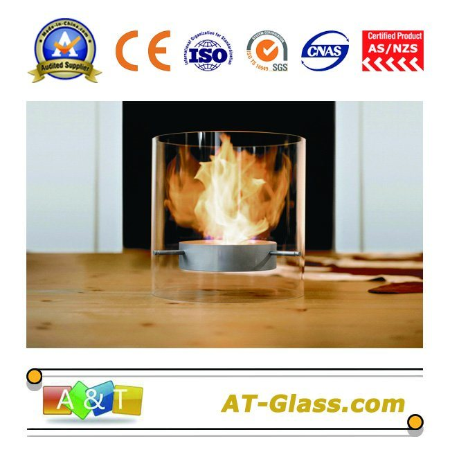 6~12mm Borosilicate Fire-Resistant Glass (BG-40) Used in Curtain Walls, Ceiling, Floor, etc
