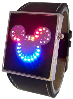 Fashion Watches  Girls on Mickey Led Watch  Fashion Led Watch  Women Wrist Watch  Alk Wsl033