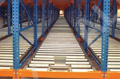 Gravity Roller Pallet Rack, Dynamic Storage Rack