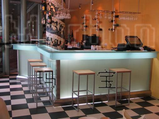 ... Marbon Transparent Material For Beer Bar - China Countertop, Table