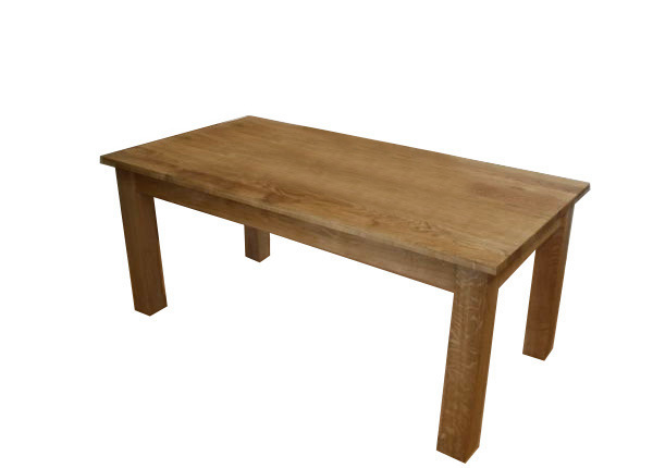 Solid Oak Home Dining Indoor Furniture Table