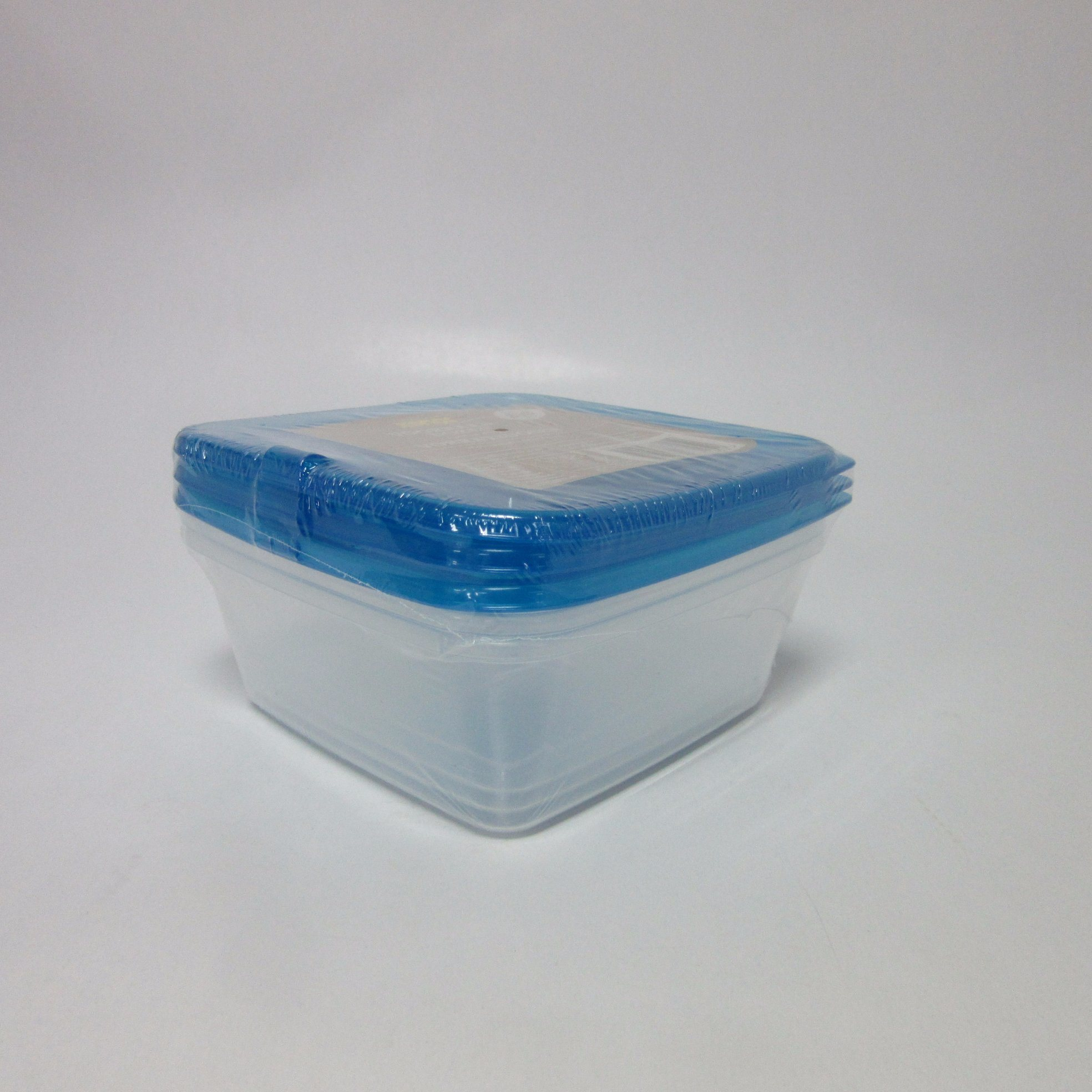Plastic Set of 3 Storage Boxes, 810ml