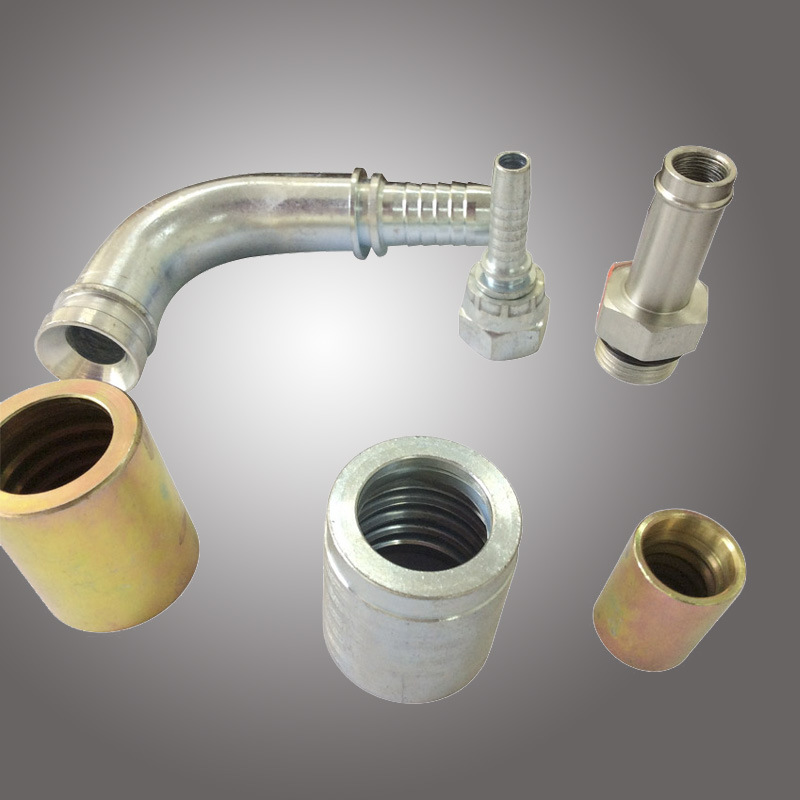 Hydraulic Straight Swaged Hose Fitting (20511-T)
