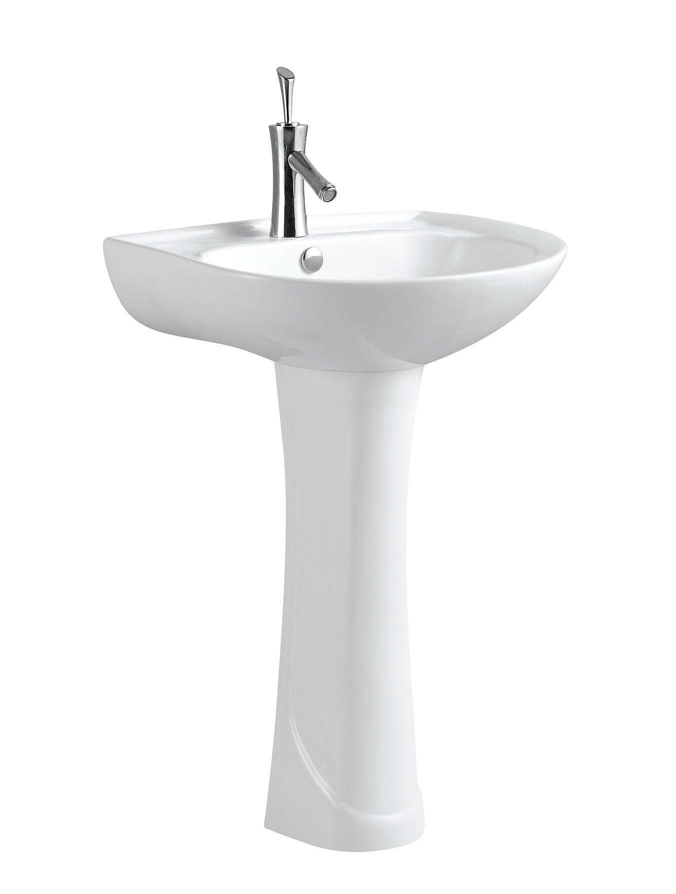 Pedestal Hand Basin : ... Wash Hand Basin With Pedestal C11075 - China Toilet Basin, Wash Basin