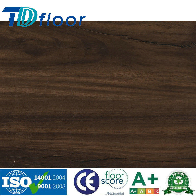 Stone Wood Design Vinyl Floor Click Lock PVC Vinyl Flooring