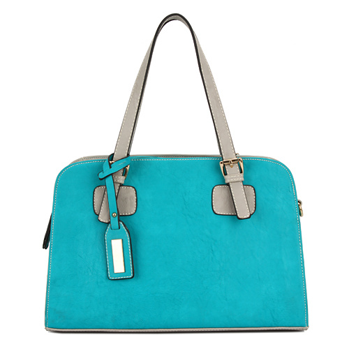 Blue Plain Gorgeous High End Women Handbag (MBNO032003)