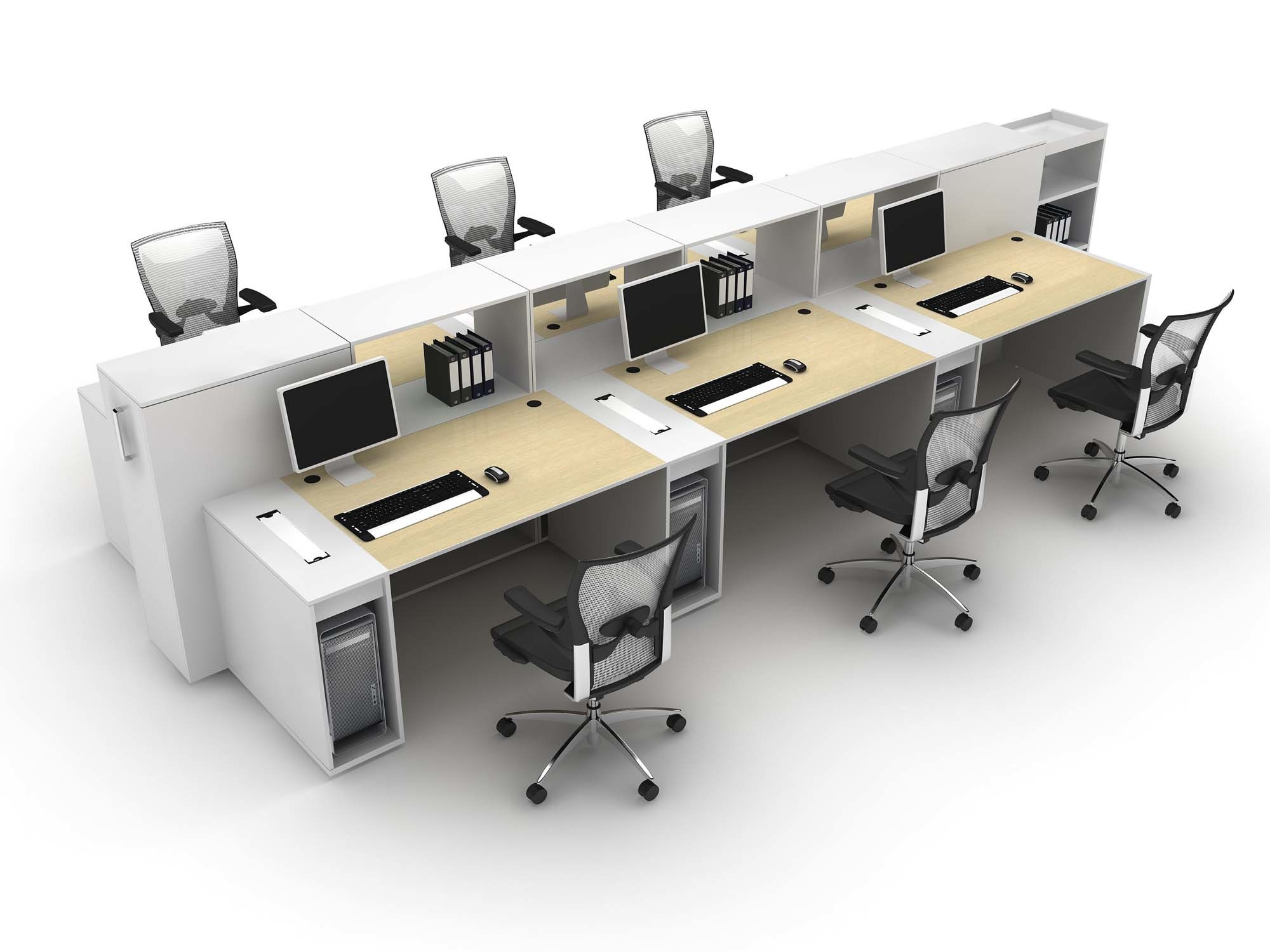 China Modern Wood Office Workstation Photos Pictures