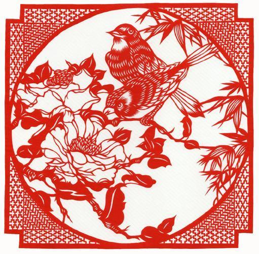 Ажурные птицы из бумаги