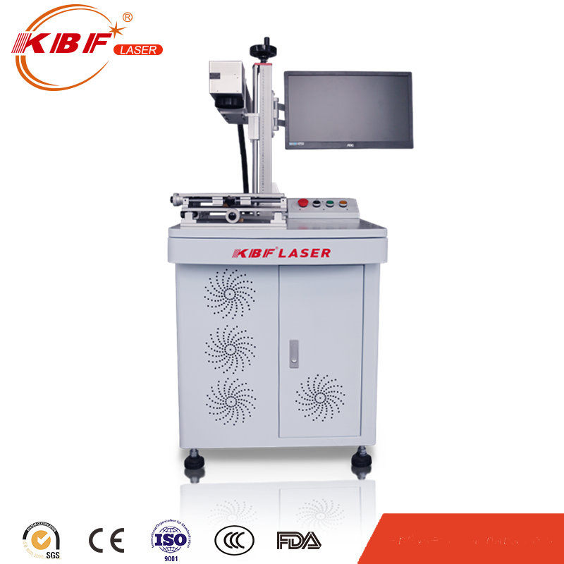 20W FDA Standard Aluminum Alloy Workbench Metal Fiber Table Laser Marking Machine