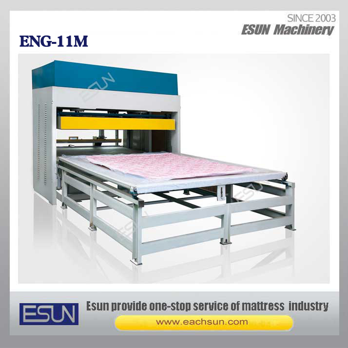 Eng-11m Mattress Compression Packaging Machine