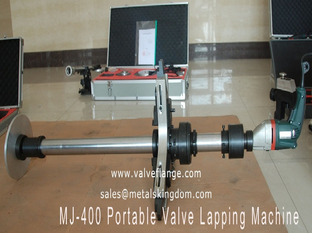 Mj100-400 Portable Globe Valve Grinding and Lapping Machine