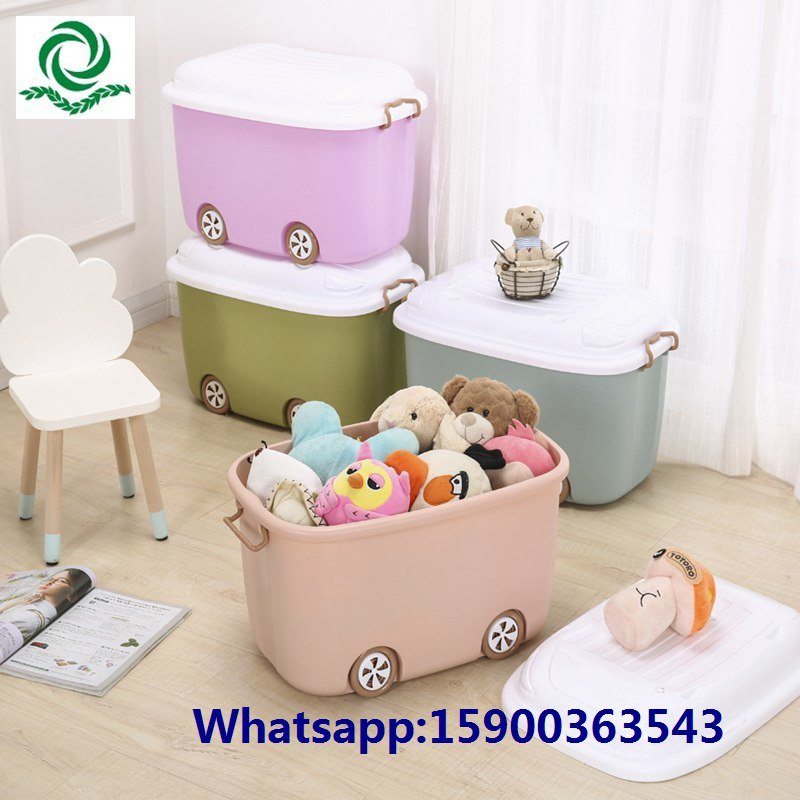 Plastic Cartoon Storage Container Box From Tesco/Carrefour Supplier