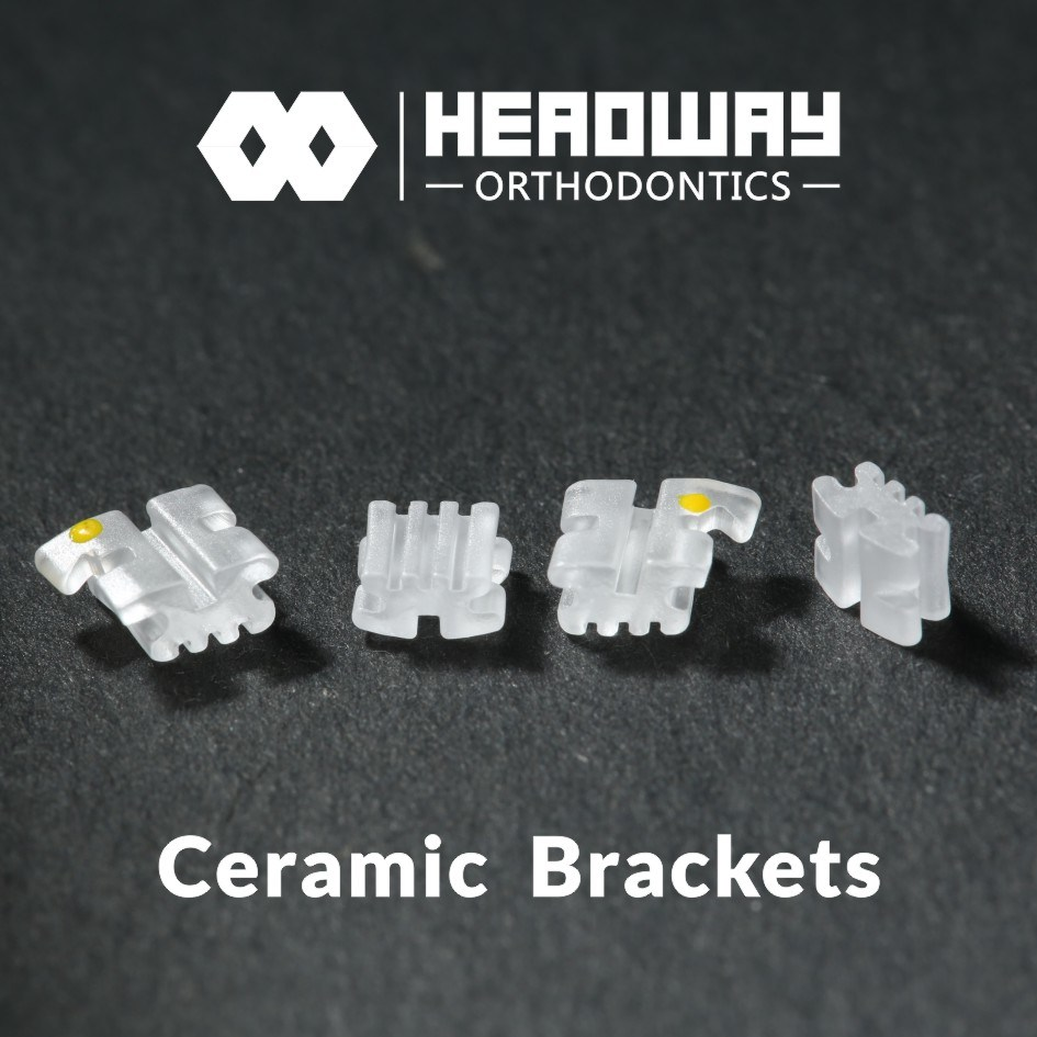 New Dental Orthodontic Bracket, Headway Ceramic Orthodontic Bracket