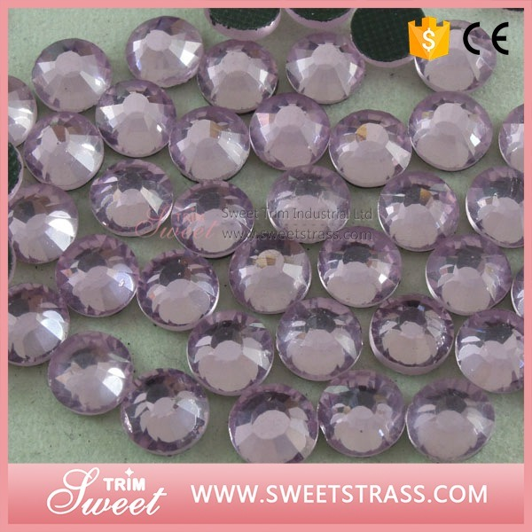 Lt. Peach DMC Faceted Diamonds for Garment Accessory