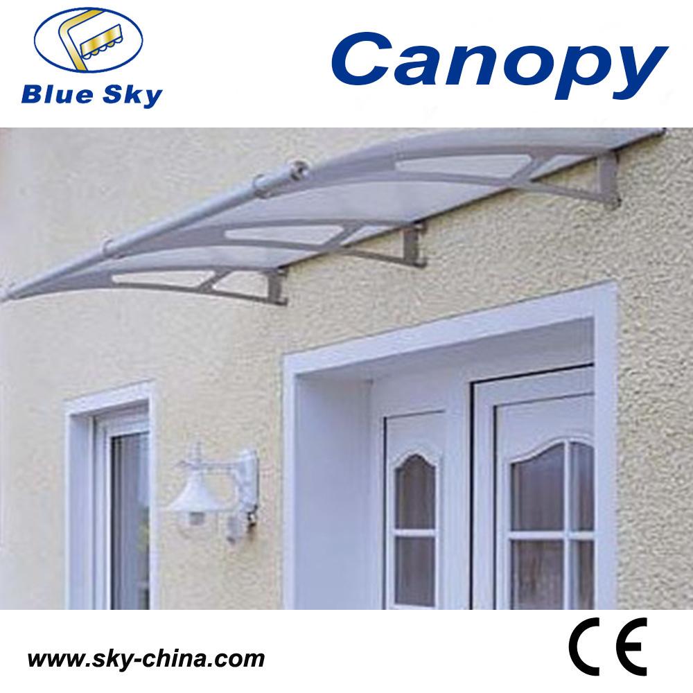Easy Installation Aluminum Transparent Side Door Canopy (B900-2)