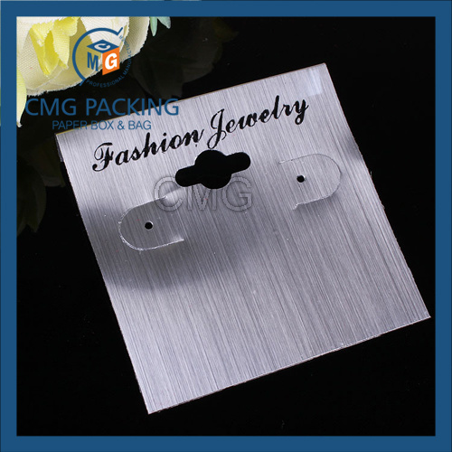 Plastic Cardboard Earring Display for Jewelry Display