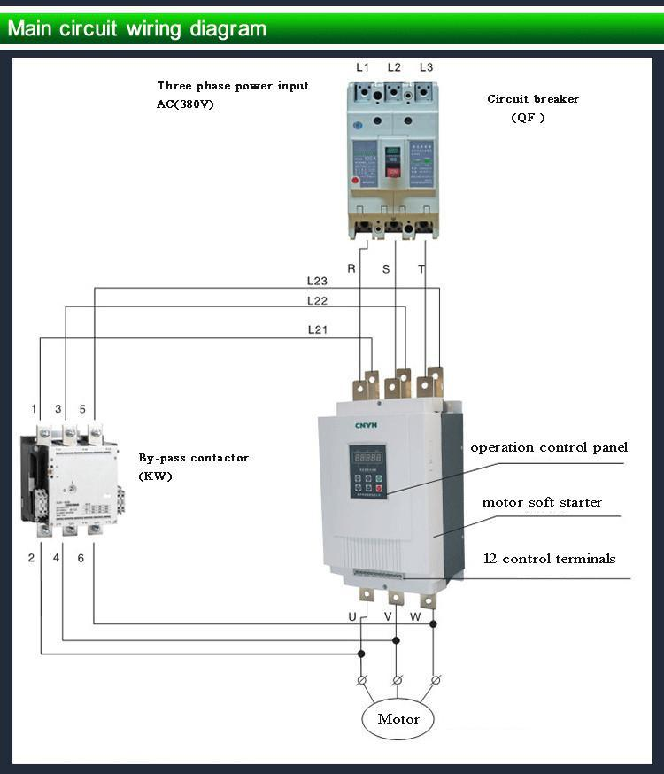 3 Phase Hot Selling 15kw 380V Soft Starter