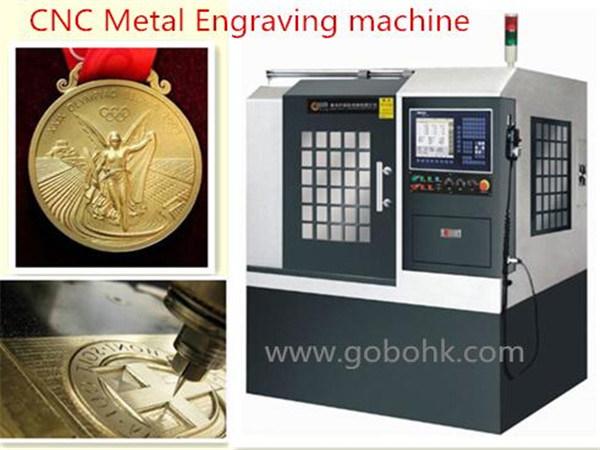 CNC Machining Center for Metal Engraving