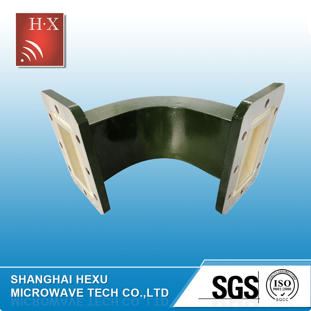 Wr137 E Bend Waveguide From Hexu Microwave