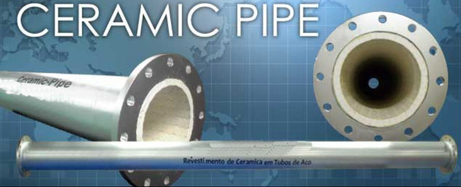 High Corrosion Resistant and Wearproof Ceramic Pipe