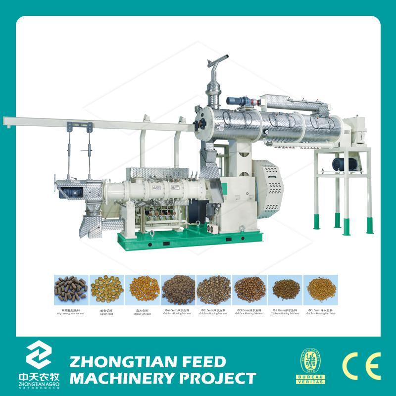 2016 Customized Cost Effective Floating Fish Feed Extruder Machine Price