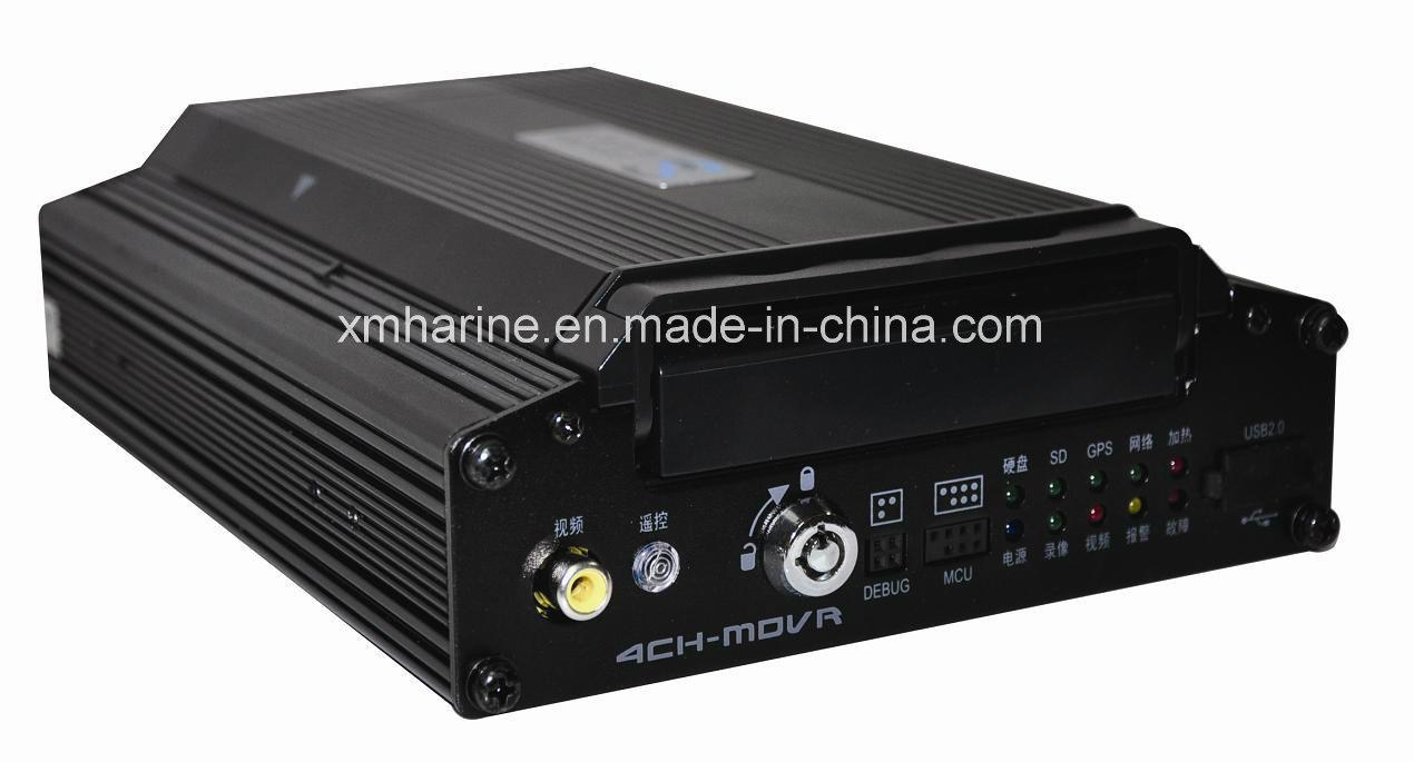 Bus Video Recorder DVR 4 Channel Car DVR