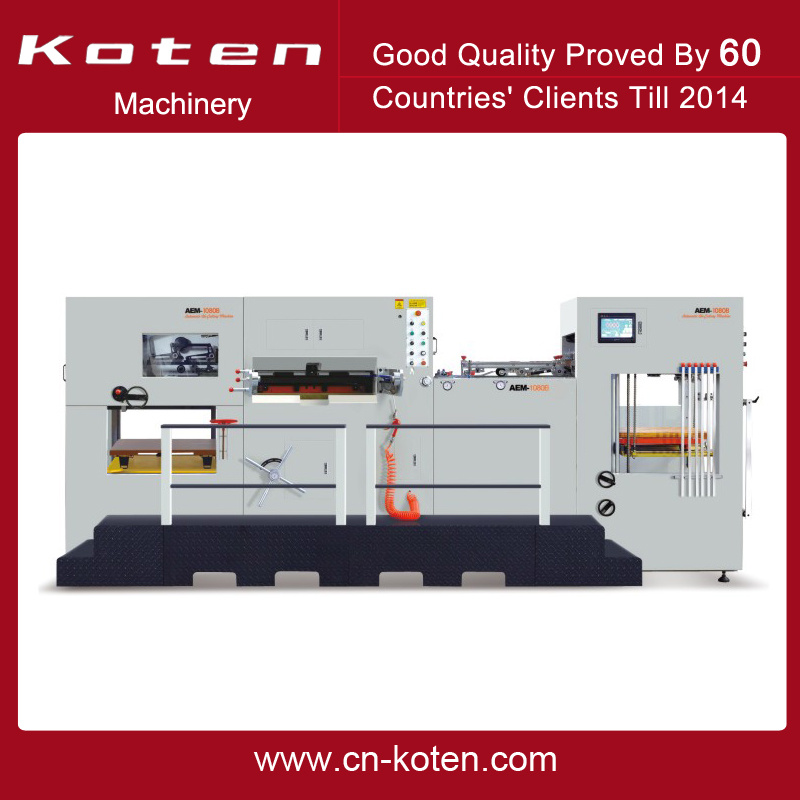 Automatic Die Cutter with Auto. Stripping