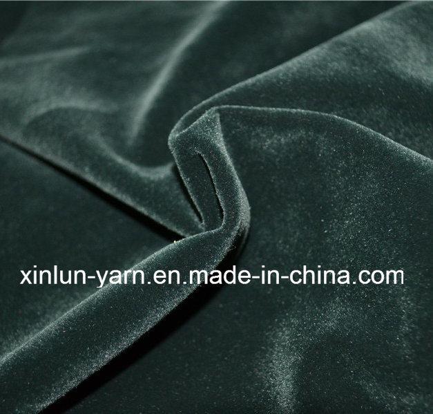 100% Polyester Brush/Coated/Bonded/Flocking Polyester Velvet Fabric for Garment/Shoes/Sofa