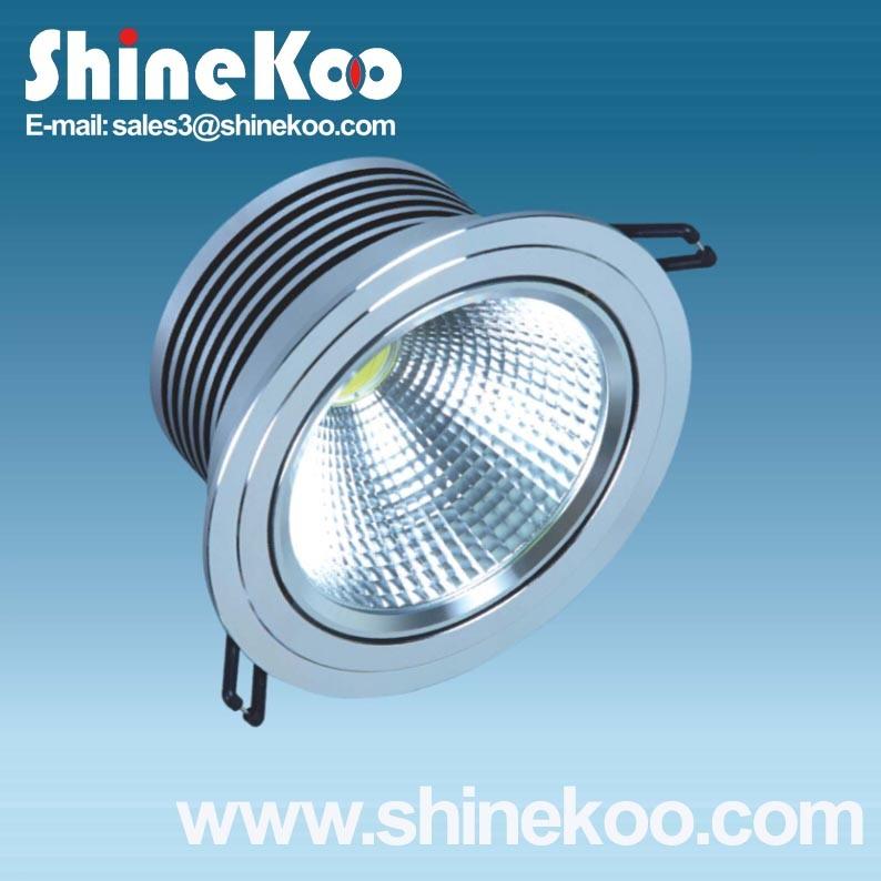 18W Aluminium LED COB Spotlight (SUN12-18W)