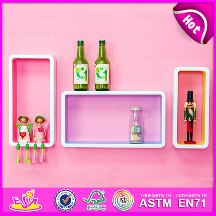 2015 Cartoon Display MDF Floating Shelves, MDF Decorative Cartoon Display Wall Shelf, Home Decoration Wooden Wall Shelf W08c108