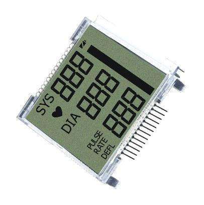 Touch Characters/ Graphics FSTN Cog LCD Display