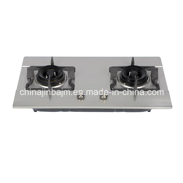 2 Burners 730 Length Safety Stainless Steel Built-in Hob/Gas Hob