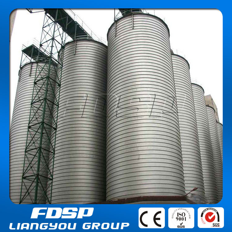 Stainless Steel Silo for Sawdust and Wood with SGS Approved