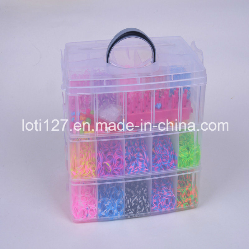 Three Layers, The Rainbow Machine, Color More, Super Popular Children′s Toys, Small Princess Toys, DIY Toys, Toys of Popularity