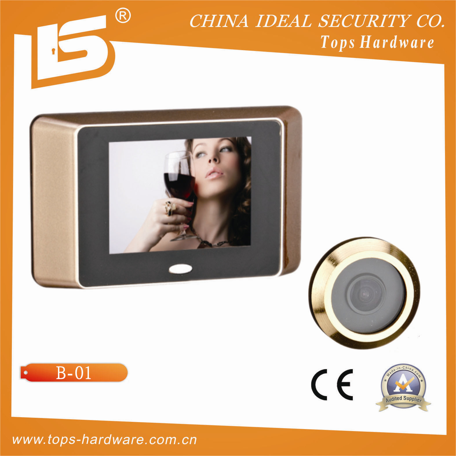 "3.5"" Digital Door Viewer (First Generation)"