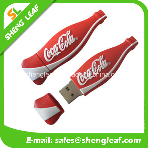 Gifts 3D Householder Rubber Customized PVC USB Flash Drives