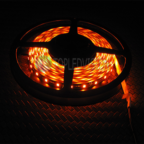 Amber Color 2835 LED Light Bar 60LEDs/M on Lighting