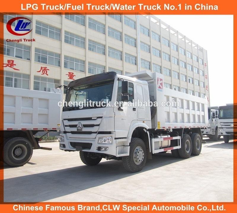 Sinotruk HOWO 6X4 371HP 25t Tipper Truck