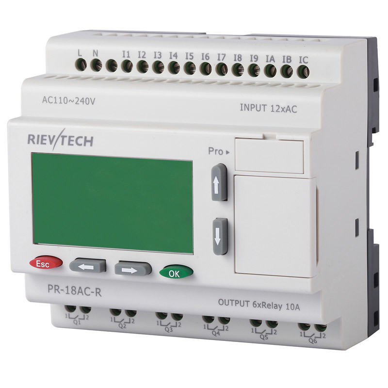 Programmable Logic Control Systems (PR-18AC-R-HMI)
