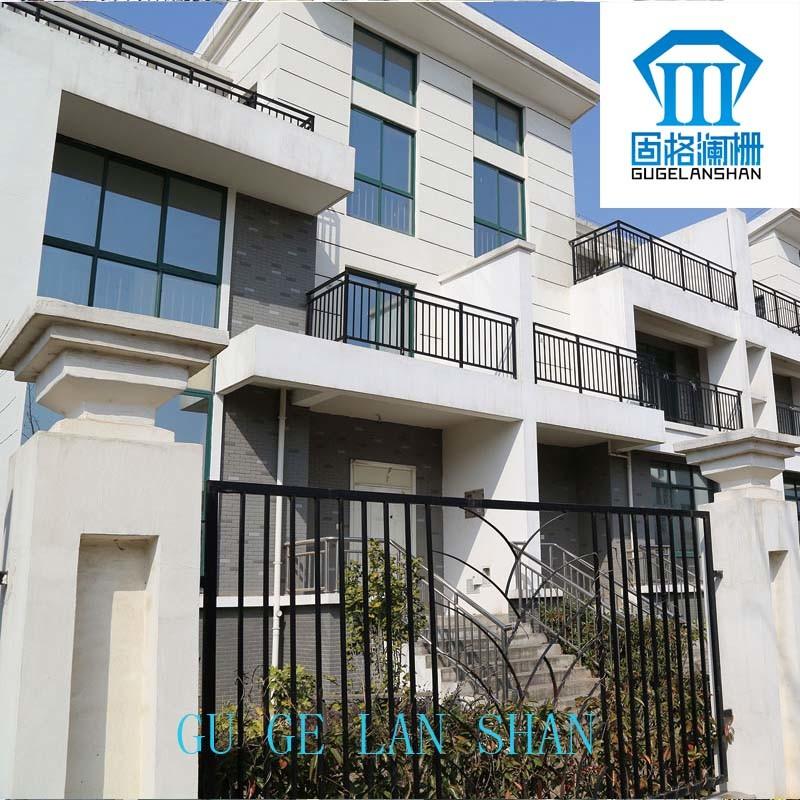 High Quality Wrought Zinc Steel Balcony Guardrail 022
